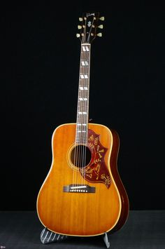 1963 Gibson Hummingbird-Iced Teaburst