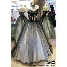 Gothic Wedding look ❤