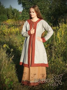 Hey, I found this really awesome Etsy listing at https://www.etsy.com/listing/462825686/early-medieval-coat-for-woman-viking