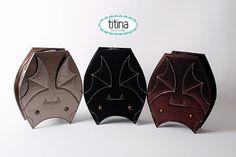Bat Purse by Titina  at https://www.etsy.com/listing/112620634/bats-bagsbats-purses-black-iridescent