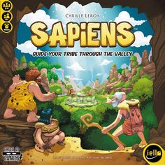 Sapiens, 7.0 BGG rating. Best with 2/4 Players.