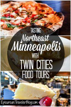 Explore and taste Northeast Minneapolis with Twin Cities Food Tours! Via EpicureanTravelerBlog.com