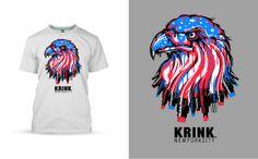 KRINK INK EAGLE  by  TomMac