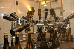 Champagne production explained on a guided tour of the Louis Roederer facilities.