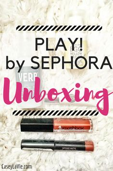PLAY! by SEPHORA Unboxing: This monthly box contains 5 deluxe samples handpicked for you!