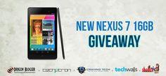 Google Nexus 7 16GB Giveaway