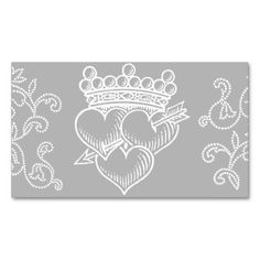 Triple Hearts and Crown profile or business card