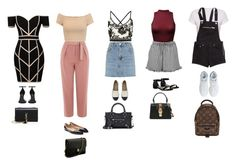 """""""Marcia"""" by daniellesngn on Polyvore featuring Command, Topshop, Boohoo, Alice + Olivia, H&M, adidas, Valentino, Chanel, Stuart Weitzman and Yves Saint Laurent"""