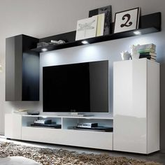 Kleines Wohnzimmer Wohnwand | Wohnzimmer Wände Streichen Ideen | Pinterest