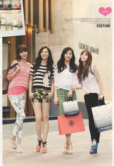SNSD Yuri, Jessica, Sooyoung and Seohyun - @star1 Magazine July Issue '12
