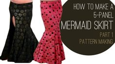 How to Make a Mermaid Skirt Part 1: Pattern Making - SPARKLY BELLY