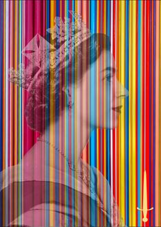 Beautiful Queen Elizabeth graphic were working on for a new table design for a hotel. Artwork Design, Queen Elizabeth, Coffee Tables, Beautiful