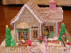 gingerbread toy shop by sweetopia*, via Flickr