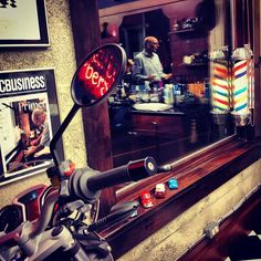 #Shaves, #haircuts, and lots of lively conversation on a Friday afternoon in the #barber shop.... :) - @barberboss- #webstagram