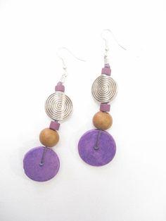 Керамични мъниста  #ceramic #beads #earrings
