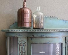 #restyle #meubels #furniture #anniesloan #chalkpaint #krijtverf #Provence #napoleonicblue