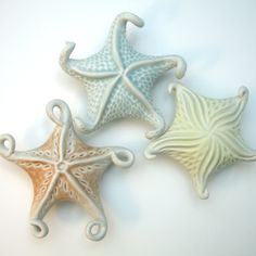Roberta Polfus Porcelain - Makes me want to make some tiny clay starfish