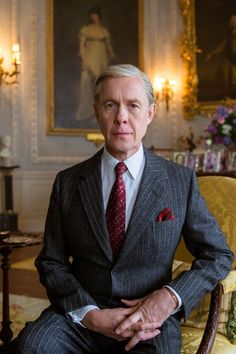 In one of The Crown season two's most shocking episodes, Queen Elizabeth II discovers that her uncle Edward VIII, the Duke of Windsor, is a Nazi sympathizer. Olivia Coleman, Crown Netflix, The Crown Season, Edward Viii, Costume Shop, Series Movies, Queen Elizabeth Ii, King Queen, British Royals