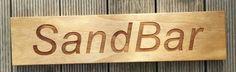 Timber house sign Laser engraved treated pine MyChoice@Firebridge