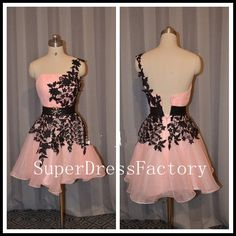 Hot sale one shoulder organza high quality by SuperDressFactory this site also let's you choose the color of the dress, which is cool.