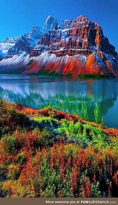 Nature in Colorful splendor