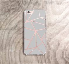 iPhone 6s Case Transparent iPhone 6S Plus Case by casesbycsera