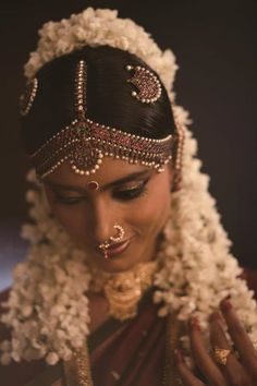 Tamil Bride more inspiration on http://www.ModernRani.com