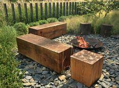 Garden Design Backyard - New ideas Backyard Retreat, Fire Pit Backyard, Backyard Landscaping, Backyard Patio, Outdoor Fire, Outdoor Decor, Australian Native Garden, Design Jardin, Fire Pit Area