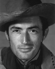 Gregory Peck bearing a striking resemblance to Hugh Jackman here.