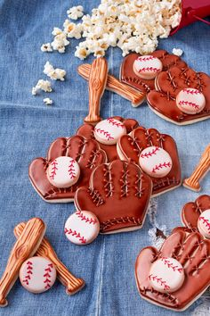 How to Make Simple Baseball Cookies with a How to Video | The Bearfoot Baker