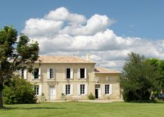Domaine de Polus | France Gironde Aquitaine. Sun-baked at the top of a tiny Gironde village, this 1770s wine merchant's home is a treat for those who love delicious food, wine and views
