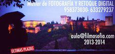 Master de Fotografía Y Retoque en Granada, http://www.filmosofia.com/master-fotografia.html. Quedan Pocas Plazas