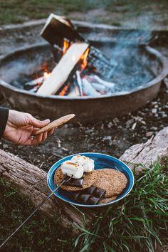 Homemade Graham Crackers + S'mores at Sylvan Lake // by Faring Well