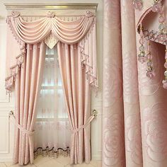 (Other Width curtain. Size and color. All of curtains textiles are handmade. The size may be tolerance. Once started making, the order cannot be canceled. All of curtains textiles are handmade. Fancy Curtains, Luxury Curtains, Elegant Curtains, Pink Curtains, Nursery Curtains, Beautiful Curtains, Home Curtains, Modern Curtains, Valance Curtains