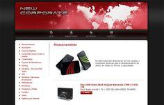 New Corporate - Catálogo de Productos desarrollado en PHP