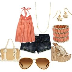 polyvore! I can not wait for the spring! I have more spring outfits then any other season...