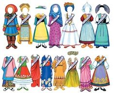 international traditional outfits for girl doll
