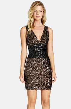 Dress the Population 'Tracy' Sequin Minidress