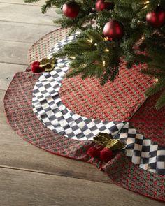 MacKenzie-Childs Rococo Christmas Tree Skirt