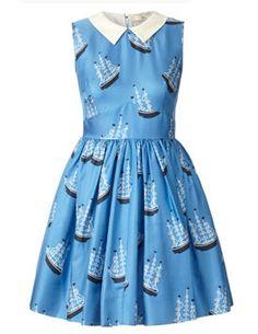 Orla Kiely boat print dress