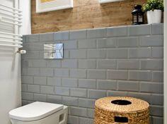 Szare płytki w łazience w skandynawskim stylu (47466)