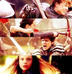 Narnia- Peter, Susan, Edmund and Lucy <3