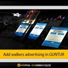 look walkers,ad walkers,I walkers advertisement in visakhapatnam. adzshop innovative advertisement