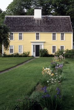 Paine House (on Greenwood Farm), Ipswich MA. It always reminds me of a doll's house.