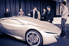 Peugeot Onyx - The making of by Romain Bucaille, via Behance