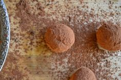 Easy Coffee and Cardamom Truffles ~ a decadent combination of dark chocolate, cardamom, and coffee!