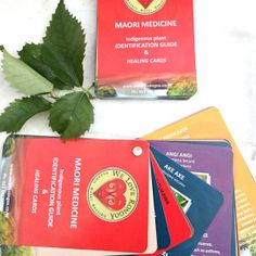 Maori Medicine indigenous plant identification guide and healing cards from weloverongoa.co.nz