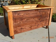 Wooden Custom Planters for Garden Plants Raised by JermCreationz, $45.00
