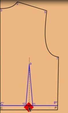 Olá meninas, boa noite!!!   Como vão as costurices??? Rs.   Hoje eu preparei um post para mostrar o passo a passo de como traçar o molde bás... Pattern Drafting, Line Chart, Sewing Patterns, Julia, Design, Women's Fashion, Patron Couture, Pattern Sewing, Sewing Tips