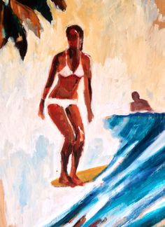 Ahead of the curve #surf art